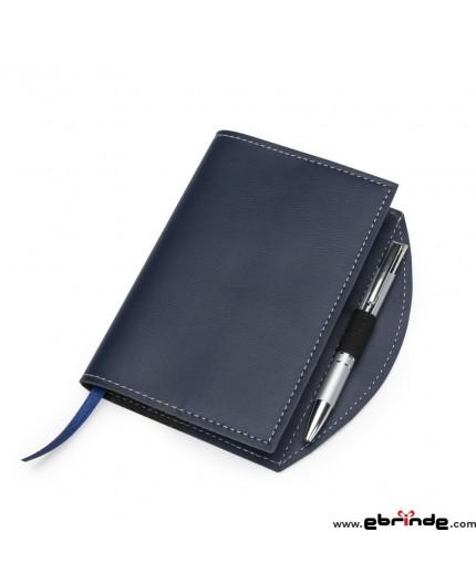 Caderneta Personalizada tipo Moleskine com Caneta